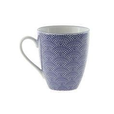 Tokyo Design Studio - Nippon Blue Mug - Dot Tokyo Design, Dots, Studio, Tableware, Blue, Stitches, Dinnerware, Tablewares, Studios