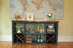 Ikea Hack | Put a wood top on the Expedit