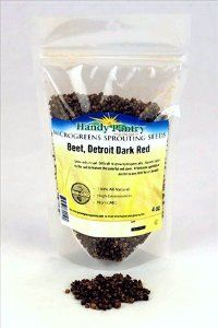 Detroit Dark Red Beet Seeds - 4 Oz. Resealable Bag - Use for Indoor Gardening, Growing Microgreens & More | Micro Greens Salad Garden by Frontier. Save 29 Off!. $3.49. Resealable bag - high germination rate. 4 Oz - Detroit Dark Red Beet Seeds. Multiple Uses: microgreens, food storage, indoor gardening & more. Detroit Dark Red Beet Microgreens: Grow only in soil. Difficult to grow hydroponically. Harvest close to the soil to feature the colorful red stem. A fantastic garnish or ...