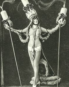 Black Mass dancer performance, Casino de Paris 1927