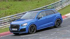 Un Audi SQ2 a été repéré par nos photographes sur le circuit du Nürburgring. Cette version musclée du petit...