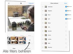 Instagram (stories) tips, filters instellen