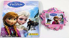 Disney Frozen Panini Sticker Album/Book (1) w/ Stickers + Extra Sticker Pack~new #PaniniDisney