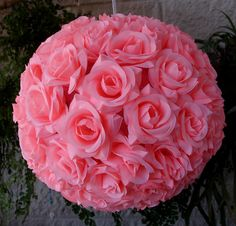 12 Inch Pink Rose Flower Ball Lantern On Sale Now! We offer vintage and unique Wedding Decorations, party supplies, decor, and lighting supplies in Bulk at Wholesale Prices. Tea Party Baby Shower, Pink Rose Flower, Fabric Roses, Flower Ball, Paper Lanterns, Bridesmaid Bouquet, Fresh Flowers, Wedding Day, Wedding Paper