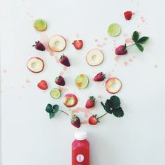Get Colourful // Pressed Colour // Pressed Juices - Positively life changing! (Photo via @cookrepublic)