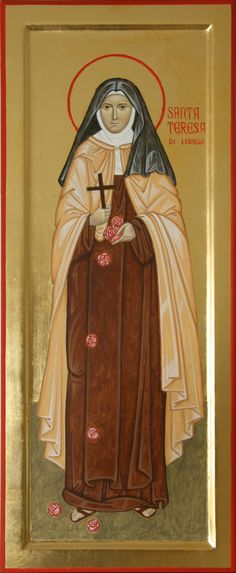 """Catholic saint __Saint Thérèse of Lisieux, or Saint Thérèse of the Child Jesus and the Holy Face, O.C.D., was a French Discalced Carmelite nun. She is popularly known as """"The Little Flower of Jesus"""" or simply """"The Little Flower"""". Wikipedia"""