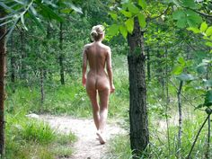 "kccaveerotica: "" bliss Nude in the woods. Bliss. (Source: lovetobenakedworld, via pixluver) """
