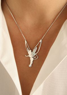 Swarovski Tinker Bell                                            Necklace