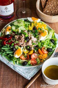Quand on passe à l'heure d'été, nos assiettes changent instantanément. Les envies de salade arrivent. C'est un peu comme si le soleil rentrait à nouveau da