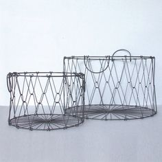 Collapsible Black Basket Range | Saarde