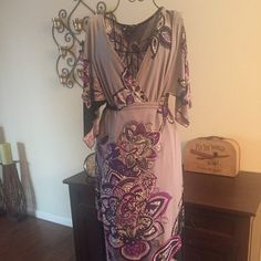 Maxi dress Beautiful Asian influence maxi dress very flattering Dresses Maxi