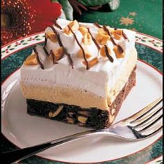 Chocolate Peanut Delight -- OMG. A co-worker made this - it was more than a delight. It was amazing!