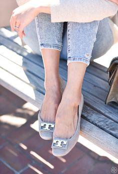 b65fbca74e06 Gigi Spotlight On  9to5Chic s Anh Sundstrom. FlatsShoes SandalsBallet ShoesFlat  ShoesTory BurchSpring FashionShoe ...
