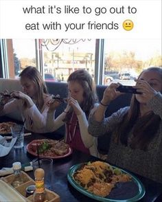 I like how it's white girls eating Mexican food, taking pictures like its something new. Haha not a thing one worries about in Texas.