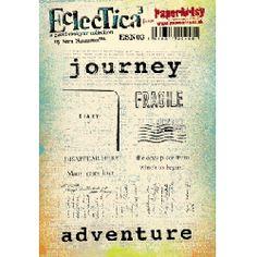 PaperArtsy stamps - Eclectica: Sara Naumann 03