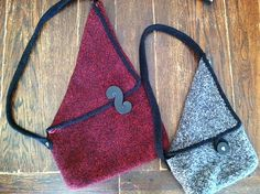 Ravelry: Felted Festival Bag pattern by Quirky Bird Knits