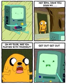 BMO Playing With Himself