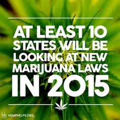 Our country is always changing, sometimes for good and sometimes we just dont know what the hell we are getting ourselves into. In this case, many states are seeing some of the light and are making a strong case for marijuana legalization in the near future.