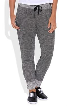 Deb Shops French Terry Space Dye Jogger Pants $18.75