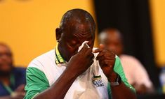 Scathing evidence has emerged that South Africa president Cyril Ramaphosa had known all along about the Great Bank Heist from as early as January last year, w Jacob Zuma, End Of Term, South Africa, January, Lost, People, People Illustration, Folk