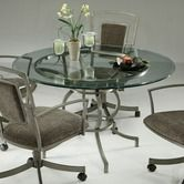 Found it at Wayfair - Hollywood II Glass Top Dining Table