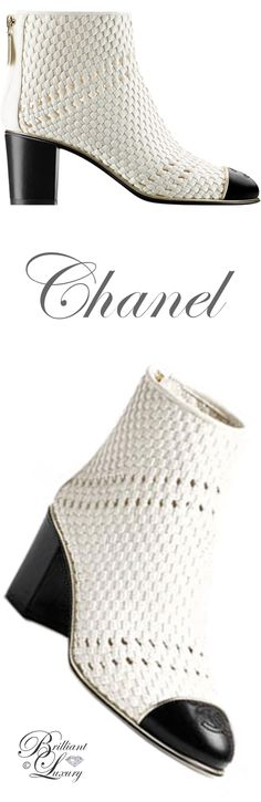 CHANEL Brilliant Luxury by Emmy DE * Chanel #boots SS 2017