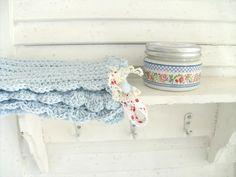 Crochet pot holders  Heart Handmade UK: Punktchengluck Shabby Chic Kitchen Inspiration | Dream Homes