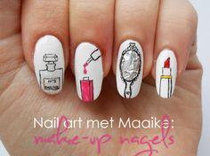Perfume/Nail Polish/Mirror/Lipstick Nails