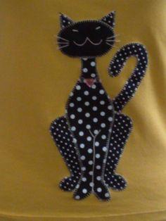 Polka Dot Kitty Cat