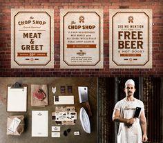 cool butcher shop