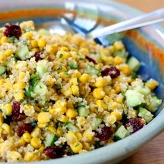 Cracked Wheat Salad with Corn and Lime