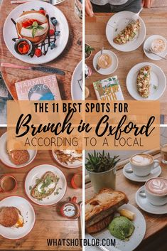 Check out the 11 best places for Brunch in Oxford according to a local! You'll find avocado on toast and a full English at these local and cheap eats. These places to eat in Oxford include vegetarian and vegan options too! Best Brunch Places, Best Places To Eat, Oxford City Centre, Oxford England, Brunch Spots, Travel Guides, Travel Tips, Travel Uk, Travel Destinations