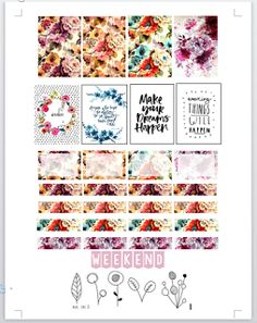 Books and Planners um Guia: Printables