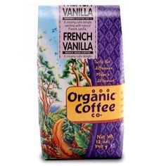 Organic Coffee French Vanilla Beans (2x2Lb)