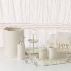 bath sets at kohls shop our full selection of bath accessories including this lc lauren conrad lace waste basket at kohls