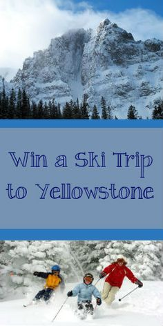 #Repin & enter to #win a #trip to #Yellowstone this #winter