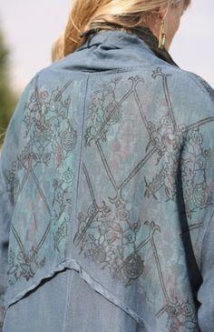 Back detail from Blue Fish Ellenway coat - love the back detail