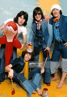 English glam rock band Mud, studio group portrait, London L-R Ray. Roxy Music, 70s Music, Music Like, 70s Glam Rock, Glam Rock Bands, Silly Love Songs, Love Songs Lyrics, Latest Hits, 70s Toys