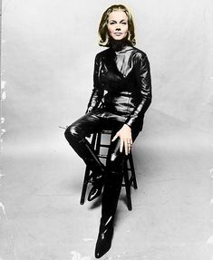Honor Blackman as Cathy Gale