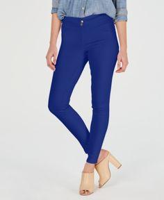 0389a01ffc130 Hue Women's Original Smoothing Denim Leggings, Created for Macy's - Black