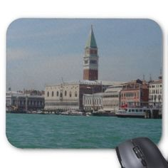 View of St. Mark's Square from Grand Canale, Venic Mouse Pads