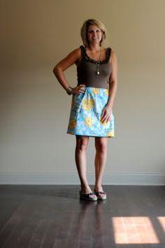 Tank dress - sew Vandoss