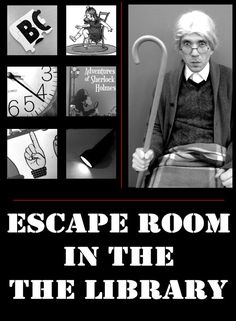 Library Escape Rooms are really big right now, so I tried to design this program so that any library can try to duplicate it. Because making something like this is kinda daunting–where do yo…