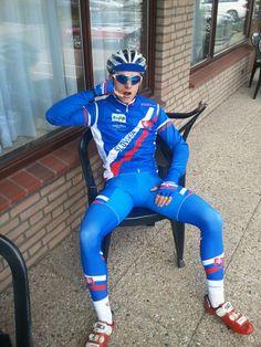 Cycling Lycra, Cycling Suit, Cycling Bib Shorts, Lycra Men, Lycra Spandex, Mens Leather Pants, Rugby Men, Men In Uniform, Sport Man