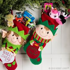 give your little ones a holly jolly christmas with the perfect stocking stuffers - Hobby Lobby Christmas Stockings