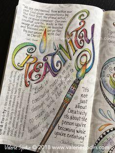 A-Z of Mystery journal - C - Creativity https://valeriesjodin.com/2018/01/a-z-mystery-journal-c-creativity/
