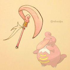 Instagram media by rebusalpa - Pokeapon No. 463 - Lickilicky. #pokemon…