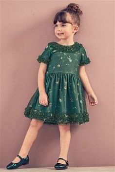 Buy Green Party Dress (3mths-6yrs) from the Next UK online shop