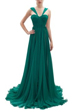 Maria Lucia Hohan - emerald gown