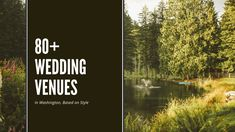 We've put together a list over 80 Washington Wedding Venues that you should check out based on your wedding style. Wedding Vendors, Weddings, Snohomish County, Reception Areas, Seattle Wedding, Outdoor Ceremony, Wedding Styles, Woodland, Bliss